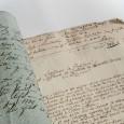 Mit diesem Schreiben bot 1784 Angelica Rosa der Gesellschaft Naturforschender Freunde eine Auswahl ihrer gestickten Vogelbilder an