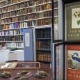 Die Birds of America benötigen aufgrund ihrer Größe eigens angefertige Vitrinen in der ornithologischen Bibliothek des Museums