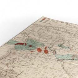 Orographische Uebersicht von Teutschland zu Behufe der Topographisch-militairischen Charte aus dem Jahr 1807