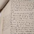 James Peter Hills Manuskript zu den Hirnnerven eierlegender Säugetiere