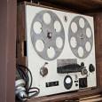Tonbandgerät aus dem Jahre 1951, mit dem die ersten Tonaufzeichnungen des Tierstimmenarchivs erstellt wurden.