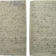 Friedrich Dahl schrieb regelmäßig an den Museumsdirektor Karl August Möbius, um über den Verlauf seines Aufenthalts zu berichten. Dieser Brief ist vom 28. Juni 1896. DerStempel zeigt das Eingangsdatum im Museum: 18. August 1896.